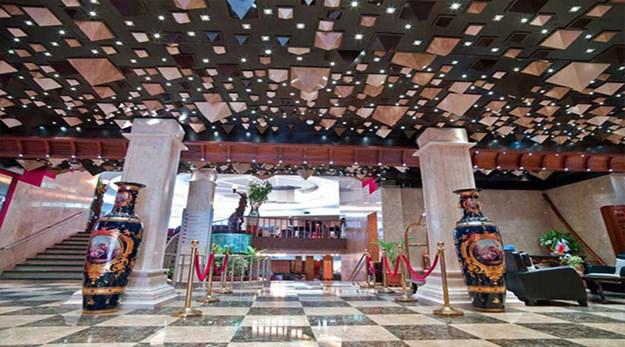 نمای لابی هتل فردوسی تهران-فردوسی