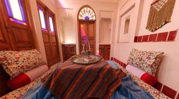 اتاق هتل خانه ایرانی کاشان-خانه ایرانی
