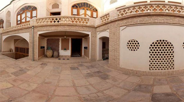 نمای بیرونی هتل خانه ایرانی کاشان-خانه ایرانی