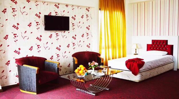 نمای اتاق هتل رضویه مشهد-رضویه