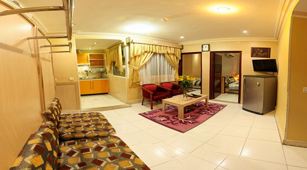 نمای سوییت های هتل قصر آیدین مشهد-قصر آیدین