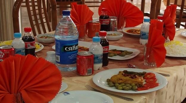 نمای رستوران هتل قصر آیدین مشهد-قصر آیدین