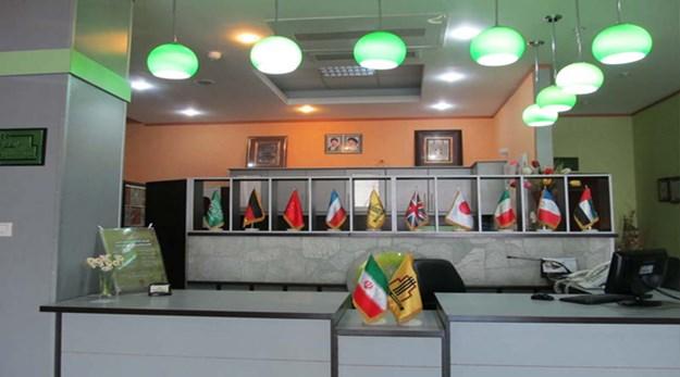 پذیرش هتل ساحلی پردیس مبارکه اصفهان-ساحلی پردیس