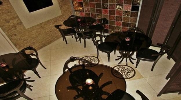 نمای رستوران هتل پارس اصفهان-پارس