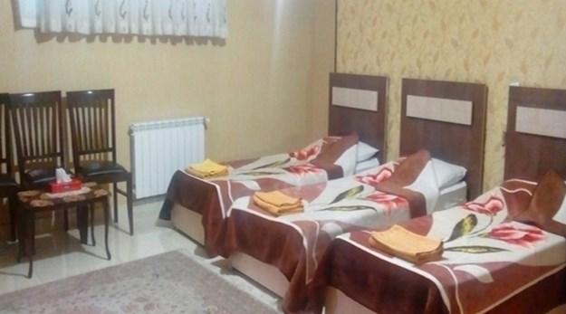 نمای اتاق های هتل سهند تبریز-سهند