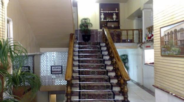 راهرو هتل مروارید تبریز-مروارید