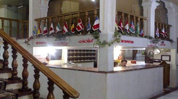پذیرش هتل مروارید تبریز-مروارید