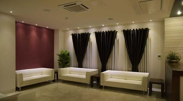نمای لابی هتل اسکان الوند تهران-اسکان الوند