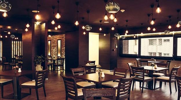 نمای رستوران هتل اسکان الوند تهران-اسکان الوند