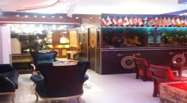 نمای داخلی هتل امید تهران-امید