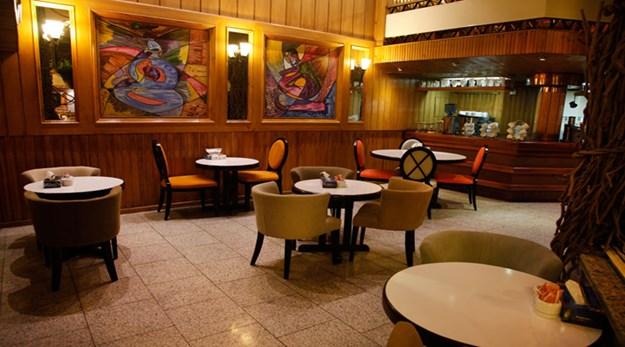نمای رستوران هتل امیر تهران-امیر