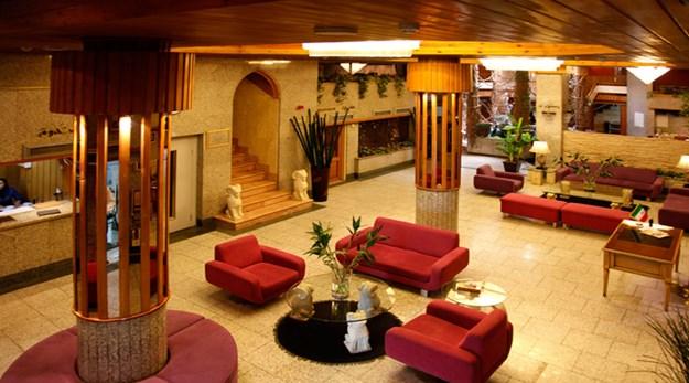 نمای لابی هتل امیر تهران-امیر