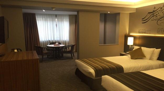 نمای اتاق هتل امیر تهران-امیر