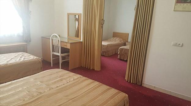 نمای اتاق هتل آزادی تهران-آزادی
