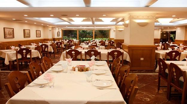 رستوران هتل البرز تهران-البرز