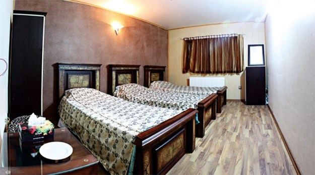 نمای اتاق هتل پرنیان خلخال-پرنیان