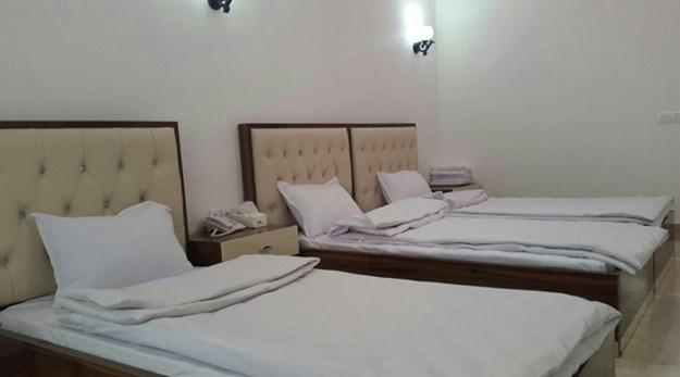 نمای اتاق هتل چیپال جلفا-چیپال