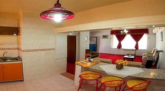 نمای اتاق های هتل جهانگردی خوی-جهانگردی