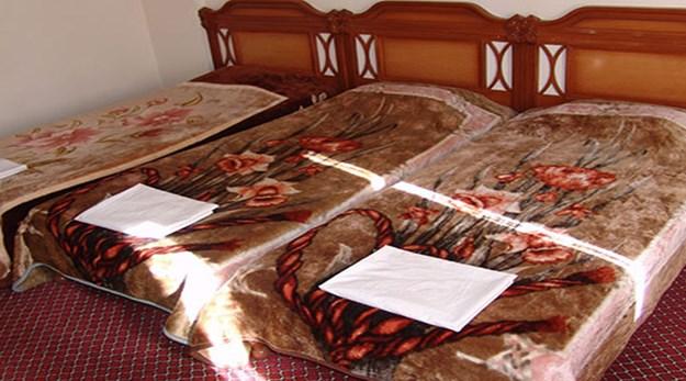 نمای اتاق هتل ساسان سرعین-ساسان