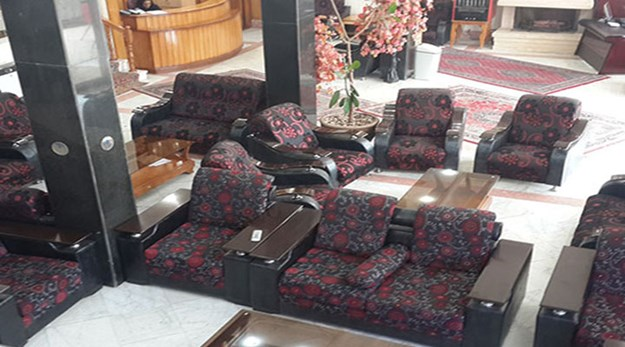 نمای لابی هتل ساسان سرعین-ساسان
