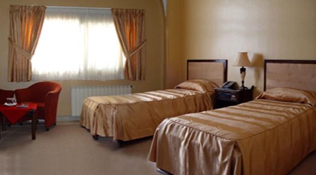 نمای اتاق هتل جهانگردی گلپایگان-جهانگردی