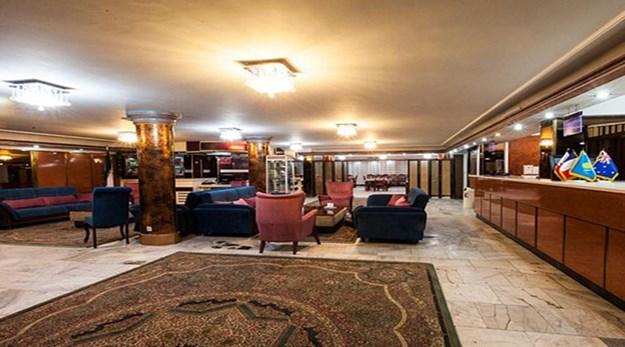 نمای پذیرش هتل آپارتمان سیبا مشهد-سیبا