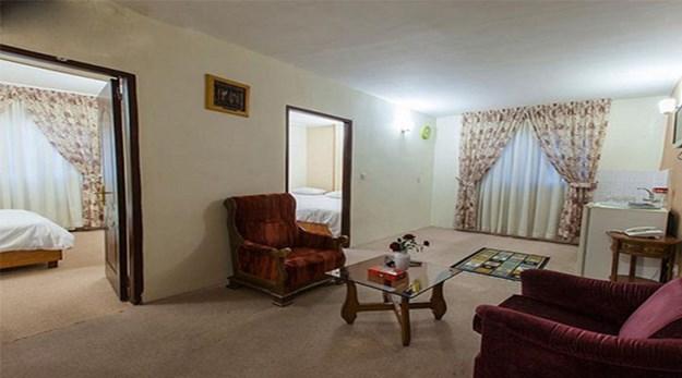 نمای اتاق هتل آپارتمان سیبا مشهد-سیبا