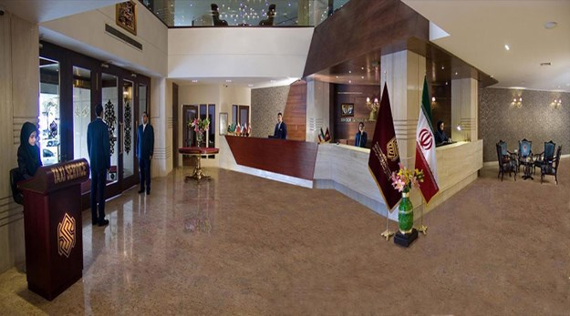 نمای لابی هتل سی نور مشهد-سی نور