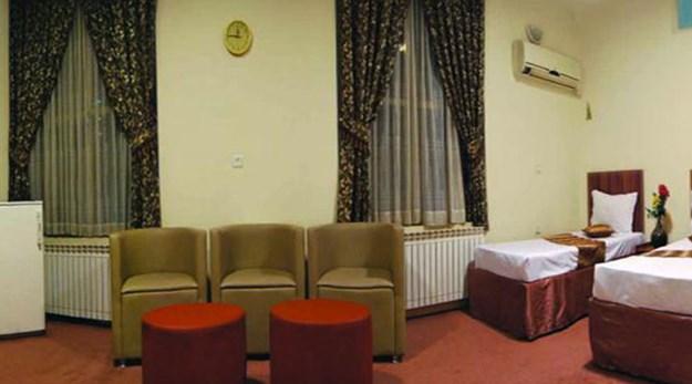 نمای اتاق هتل جواهری مشهد-جواهری