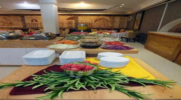 نمای رستوران هتل جواهری مشهد-جواهری