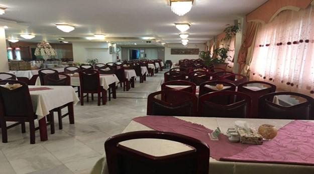 نمای رستوران هتل خانه سبز مشهد -خانه سبز