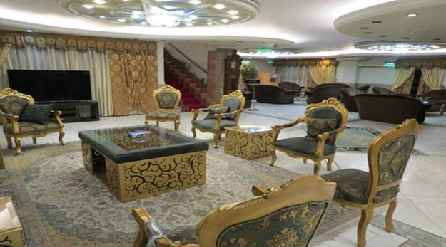 نمای لابی هتل خانه سبز مشهد -خانه سبز