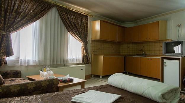 نمای سوییت هتل بهارستان مشهد-بهارستان