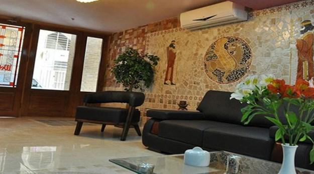 لابی هتل جمشید اصفهان-جمشید