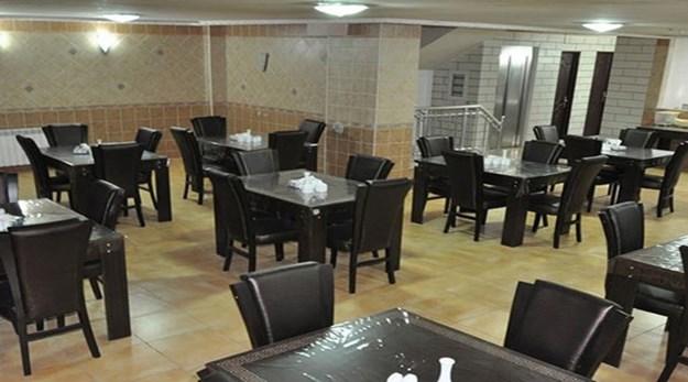 نمای رستوران هتل جمشید اصفهان-جمشید