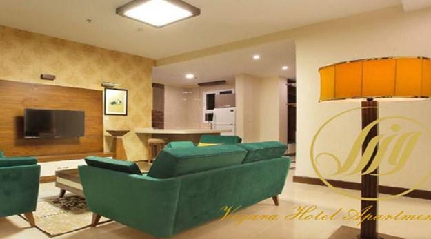 نمای داخلی هتل آپارتمان وزرا تهران-وزرا