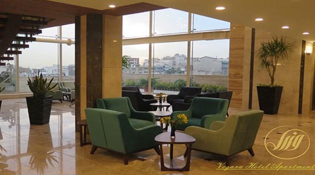 نمای اتاق هتل آپارتمان وزرا تهران-وزرا