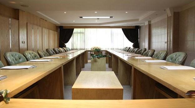 نمای سالن کنفرانس هتل آپارتمان ملل تهران-ملل