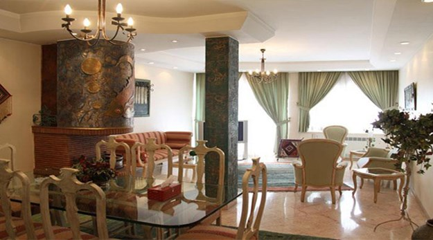 نمای داخلی هتل آپارتمان ملل تهران-ملل