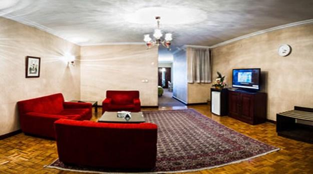 نمای داخلی هتل مشهد تهران-مشهد