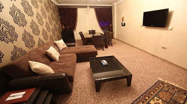 نمای اتاق هتل ارم تهران-ارم