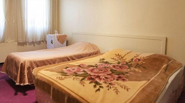 نمای اتاق هتل خیام تهران-خیام