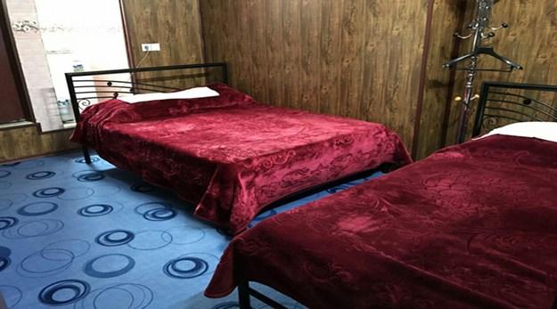 نمای اتاق مهمانسرای شهسوار-شهسوار