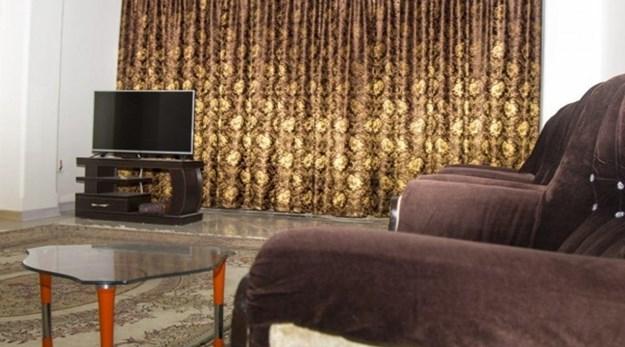 اتاق هتل آپارتمان شروین اصفهان-شروین