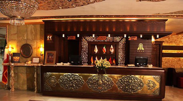 پذیرش هتل عالی قاپو اصفهان-عالی قاپو